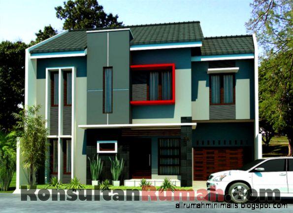 Arsitektur Rumah Minimalis Modern sama dengan arsitektur modern