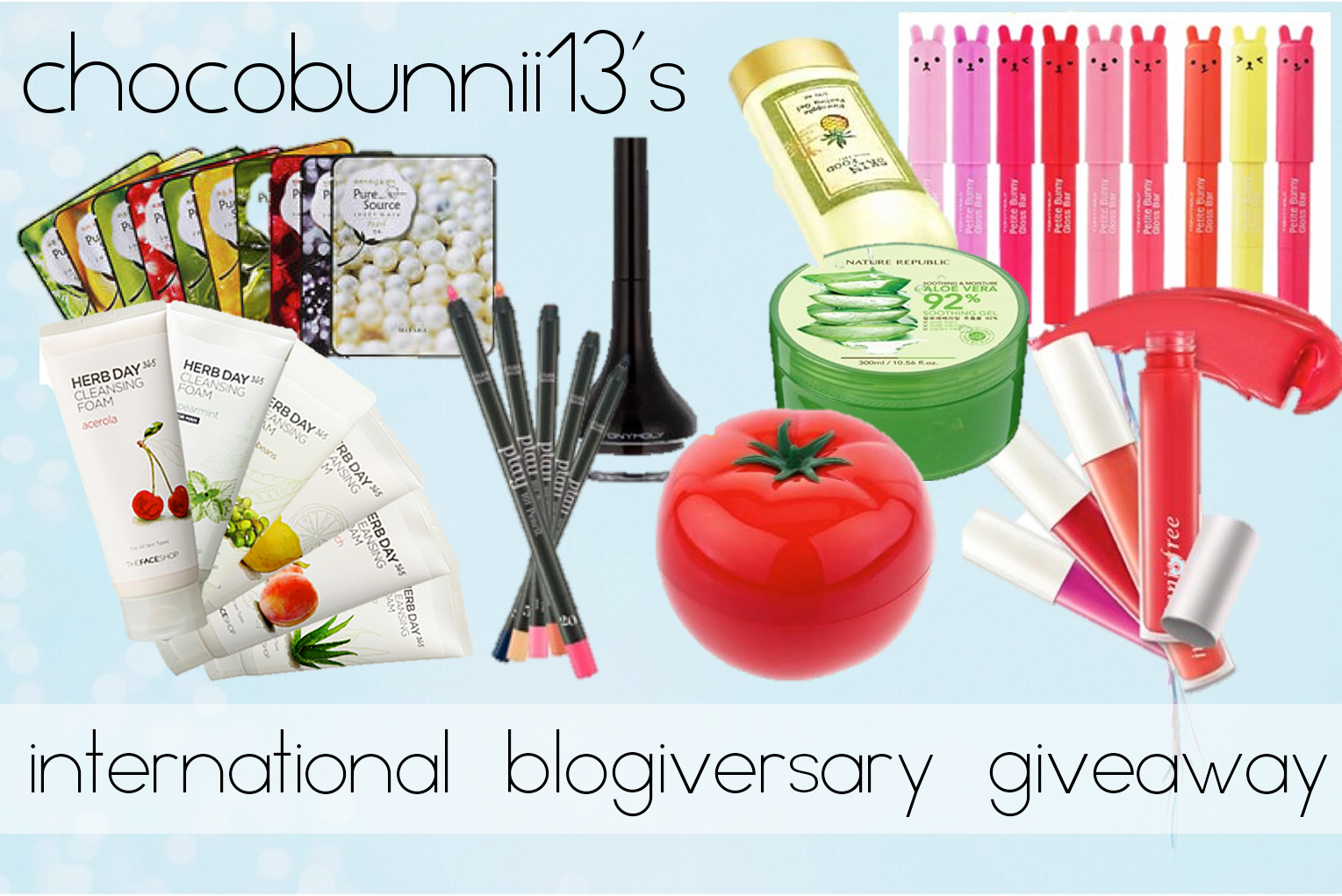 1ST BLOGIVERSARY INTERNATIONAL GIVEAWAY!