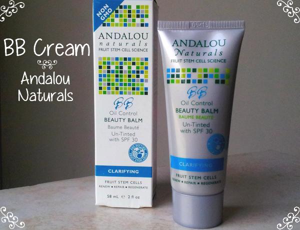 Oil Control Beauty Balm Un-Tinted d'Andalou Naturals