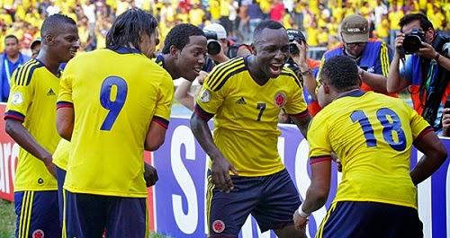 Colombia vs Brasil Copa América 2015