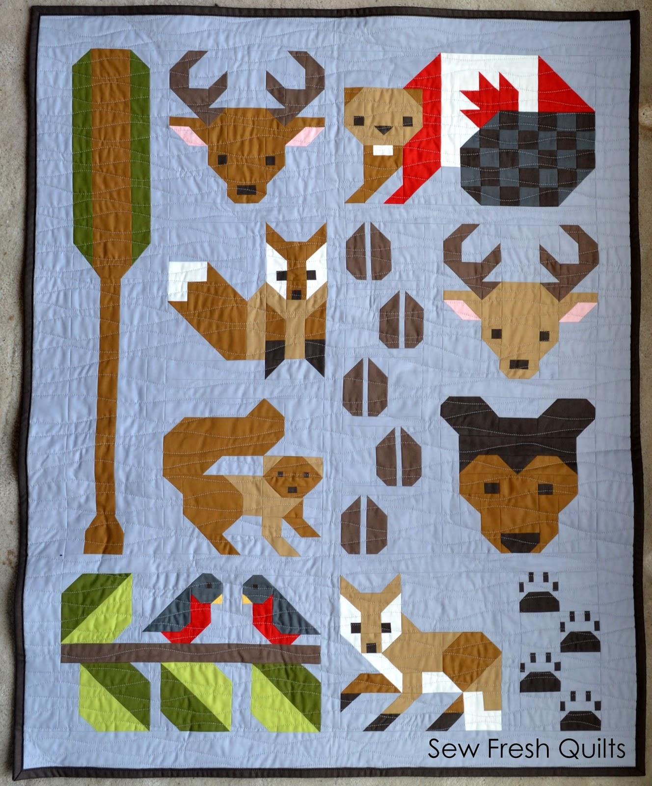 Forest Friends pattern release | Sew Fresh Quilts | Bloglovin' : deer quilt patterns - Adamdwight.com