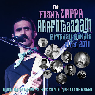 Frank Zappa - AAAFNRAAAAAM Birthday Bundle 2011 CD Review (Digital Only Release)