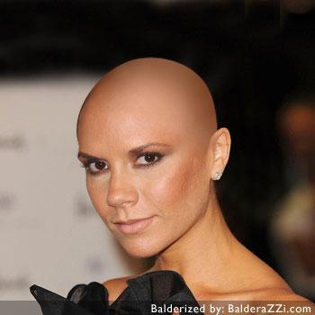 Victoria becham get head shaved