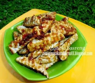 Resep Basreng Tenggiri Sambal Cobek Homemade