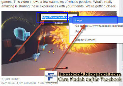 cara download video di facebook tanpa software