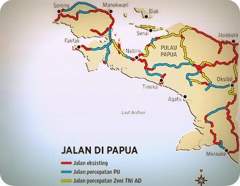 4.300 km Jalan Trans Papua akan Selesai pada 2018