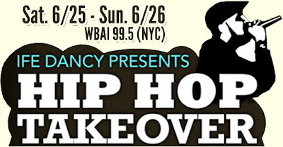 The WBAI Hip Hop Takeover 2012 (24 Hour Event - Audio Stream & Download)