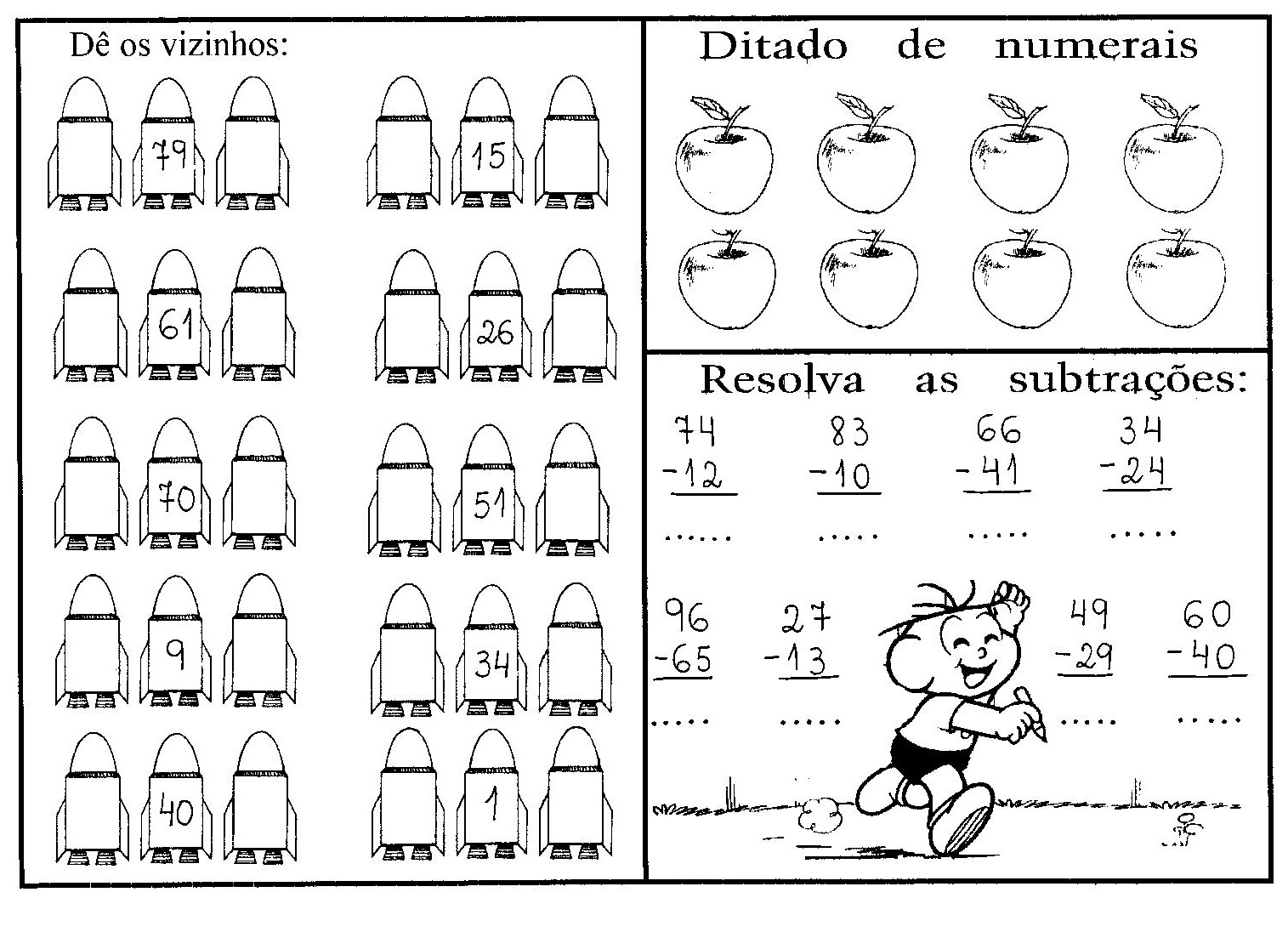 N  MEROS VIZINHOS   ATIVIDADES DE MATEM  TICA