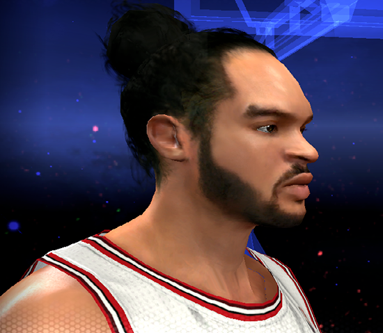 NBA 2K14 Joakim Noah Next-Gen Face Mod