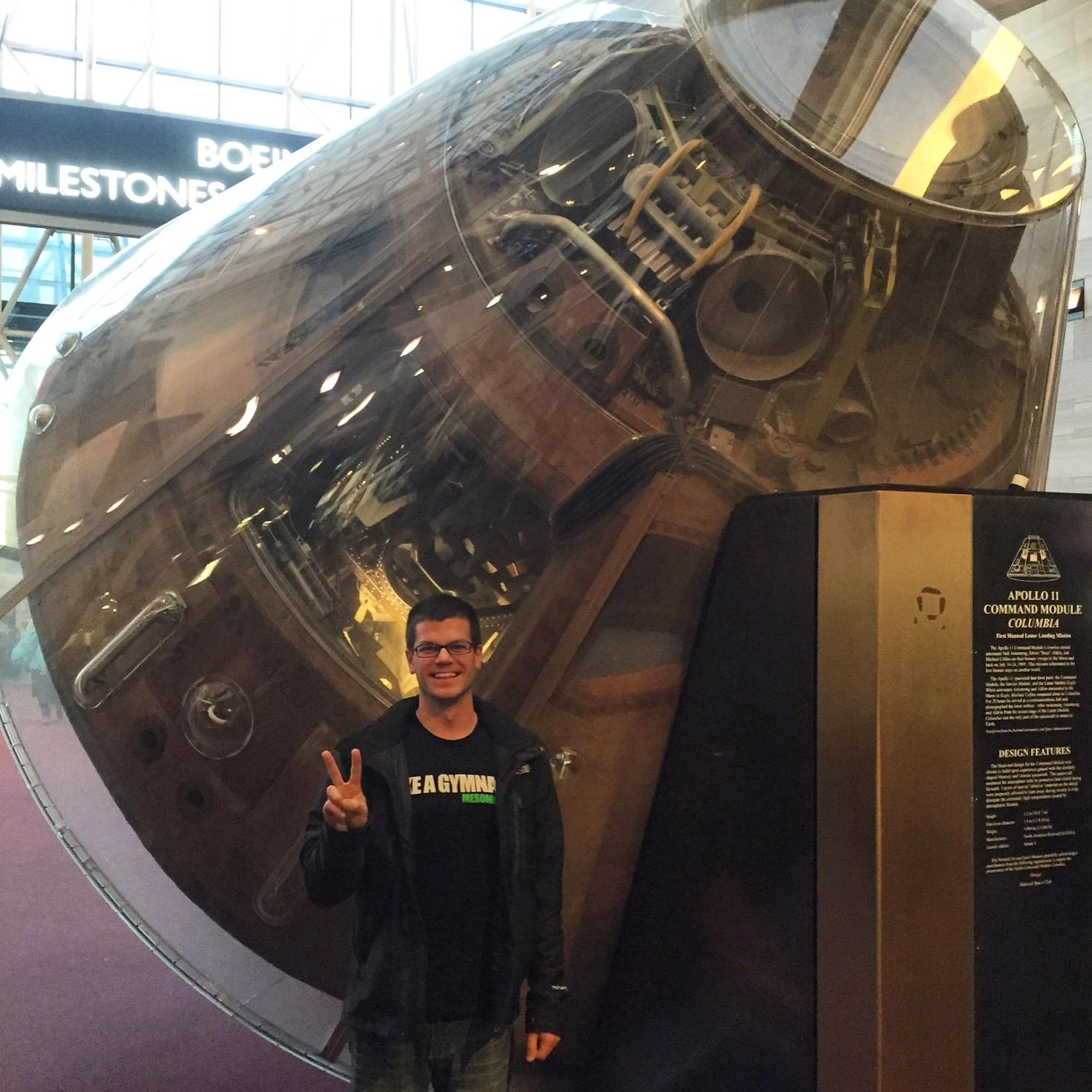 apollo 11 command module capsule
