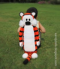 Big Tiger: Free pattern