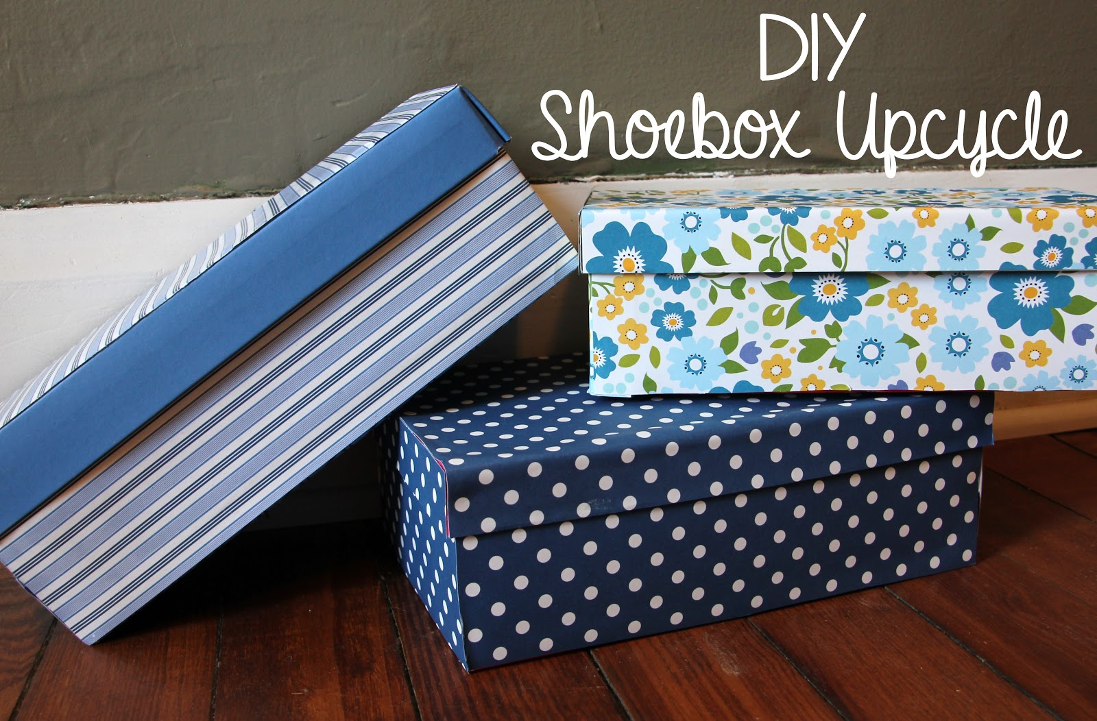 Lovely little life diy pretty shoebox upcycle for Diy upcycle