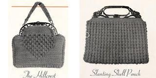 Crocheted Shell Pouch Bag Pattern