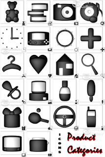 Product Categories icons