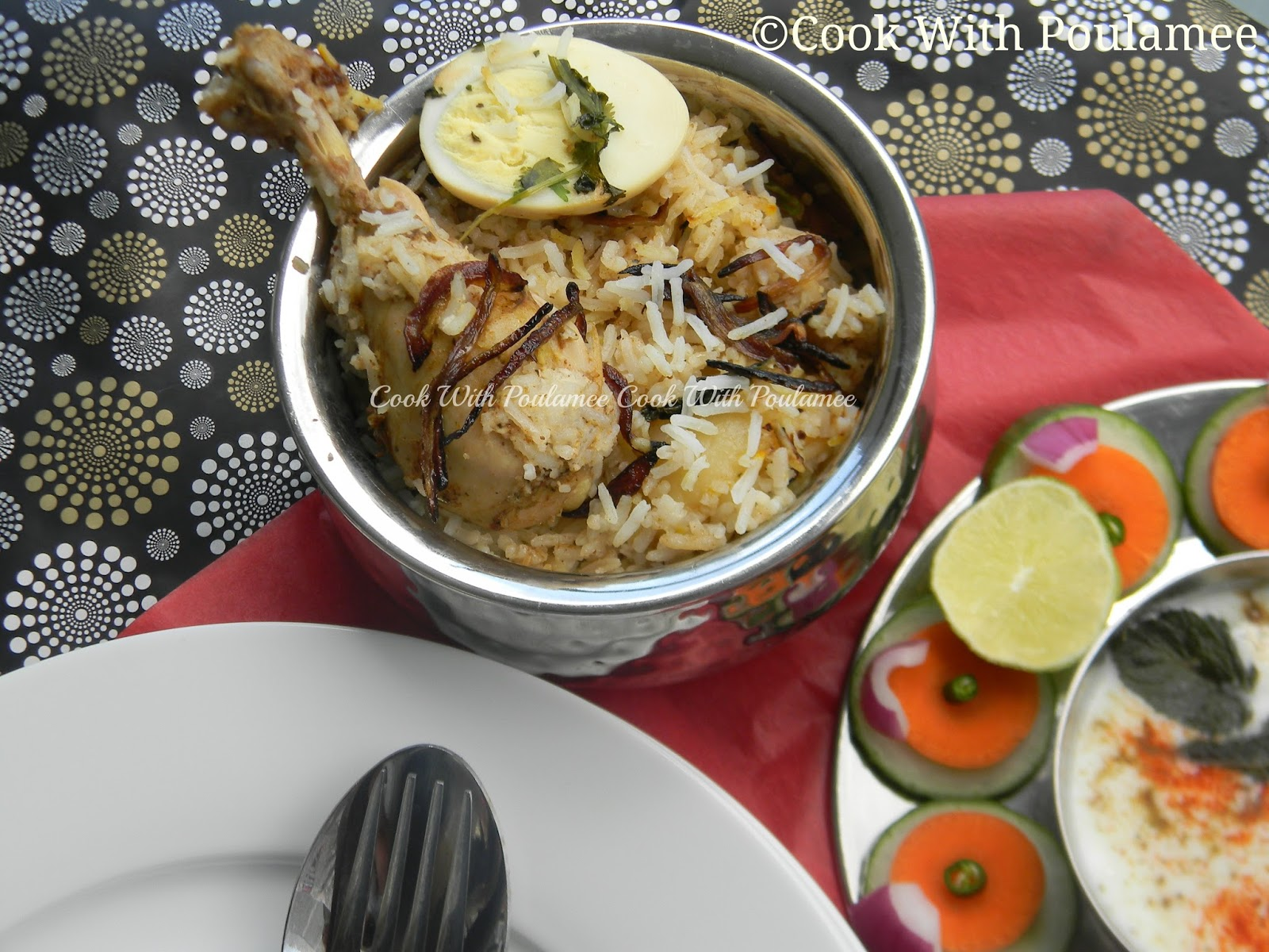 Chicken handi biryani - photo#21
