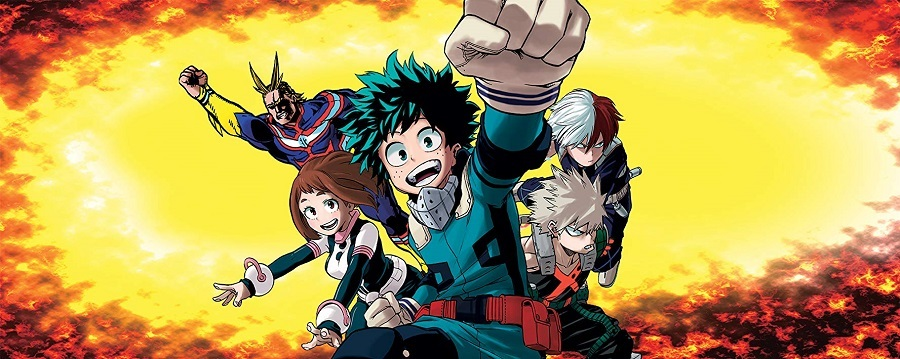 Boku no Hero Academia - 1ª Temporada 2016 Anime Desenho 1080p Bluray Full HD completo Torrent