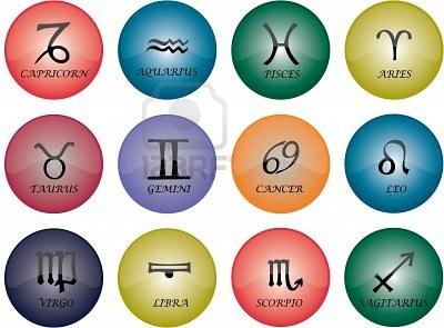Simbolos de los Signos Astrológicos