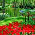 أكبر وأجمل حديقة أزهار في العالم بهولندا