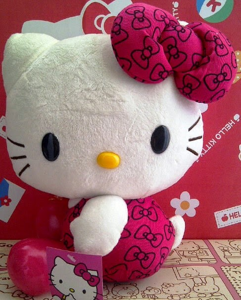Gambar foto hello kitty pink
