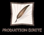 production écrite