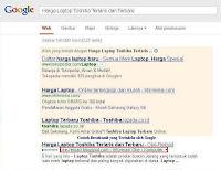 Artikel dengan Navigasi Breadcumb yang Diindeks oleh Google