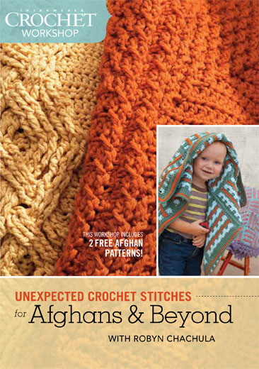 Crochet Stitches Video Dailymotion : for Afghans and Beyond Workshop