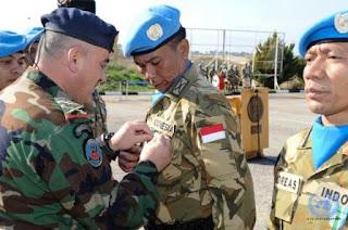 Kontingen Garuda 2014-2015 Akhiri Misi Perdamaian di Lebanon