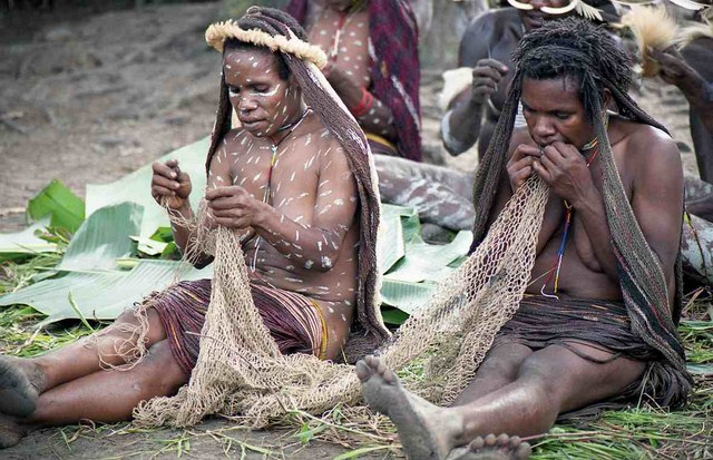 Dani People, Indonesia