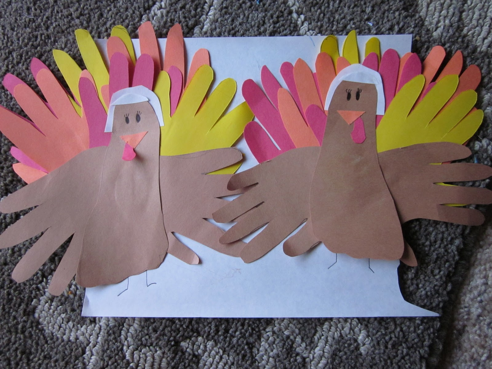 Sew crafty mommy: simple 5 10 minute thanksgiving crafts