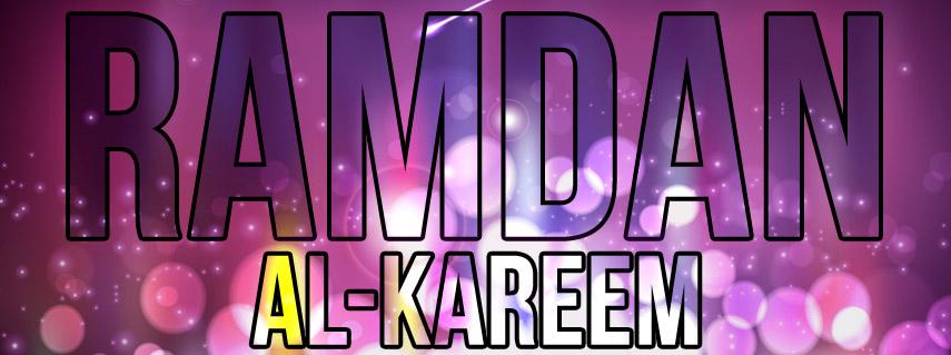 Ramadan Al-Kareem 2013 Facebook Timeline Cover