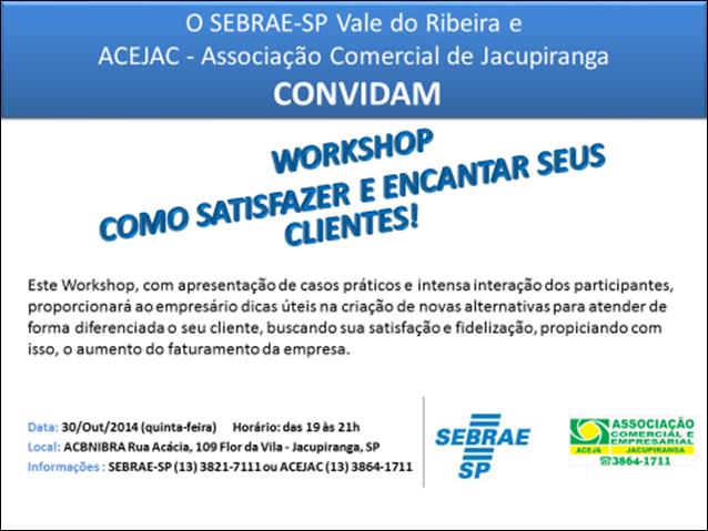 Workshop do Sebrae-SP orienta como empresas podem aperfeiçoar atendimento aos clientes