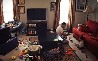 Όταν ο πατέρας μένει μόνος με το παιδί