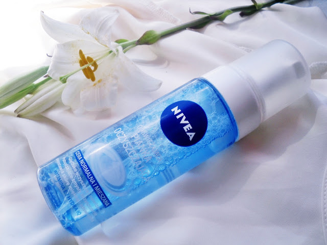 Nivea - odświeżająca pianka oczyszczająca / cera normalna i mieszana