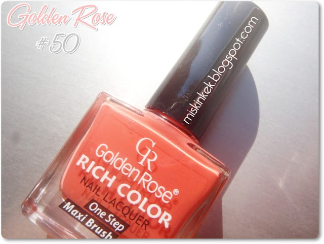 golden rose mercan rengi oje #50