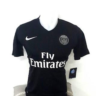 gamabr detail jersey terbaru musim depan kualitas grade ori made in thailand Jersey PSG third terbaru Nike musim 2015/2016