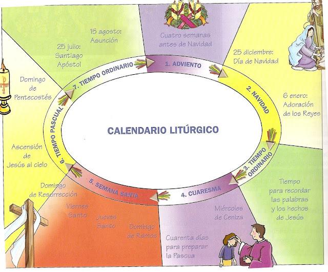 Parroquia la inmaculada recursos catequesis calendario for Festivos valladolid 2017