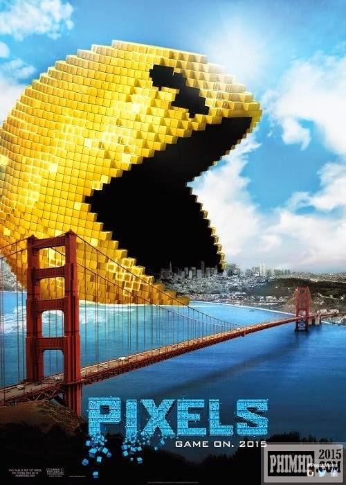 poster Đại chiến Pixels