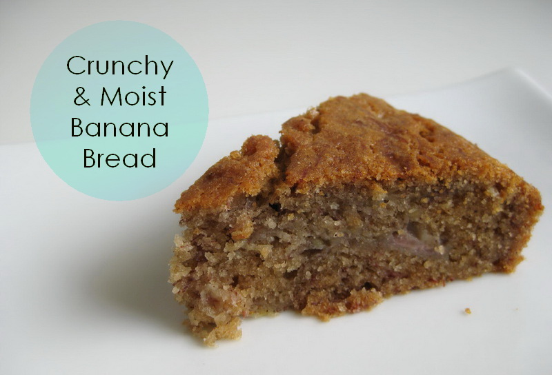 My Handmade Home Toaster Oven Challenge Crunchy And Moist Banana Bread