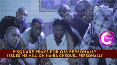 Jude Okoye And PSquare Donate N5million For OJB's Kidney Transplant