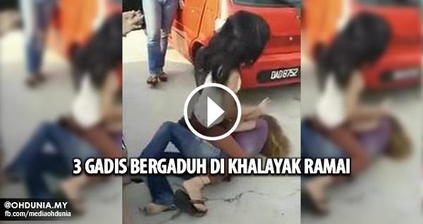 Seorang gadis dibelasah teruk dua perempuan di Bachok Kelantan