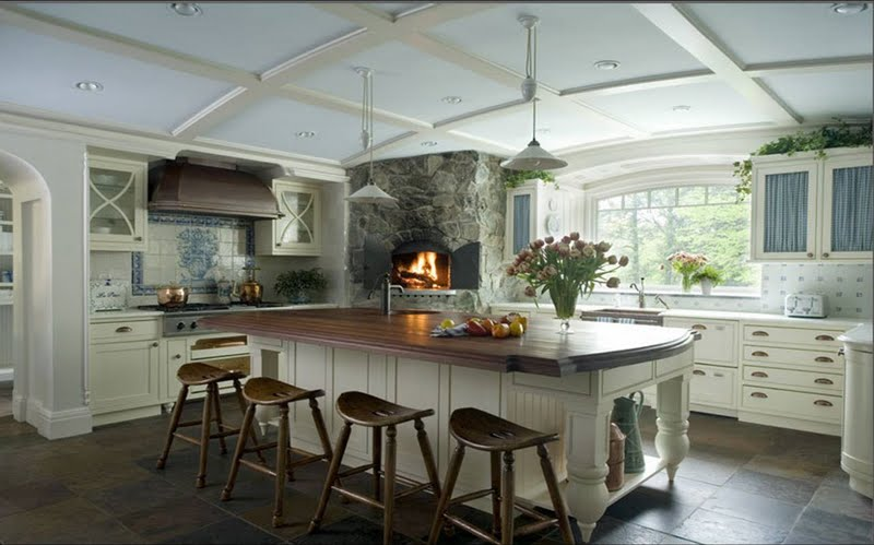 Kitchen Island with Seating and Oven