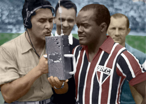 Leonidas da Silva, outstanding football player from the 1938 World Cup