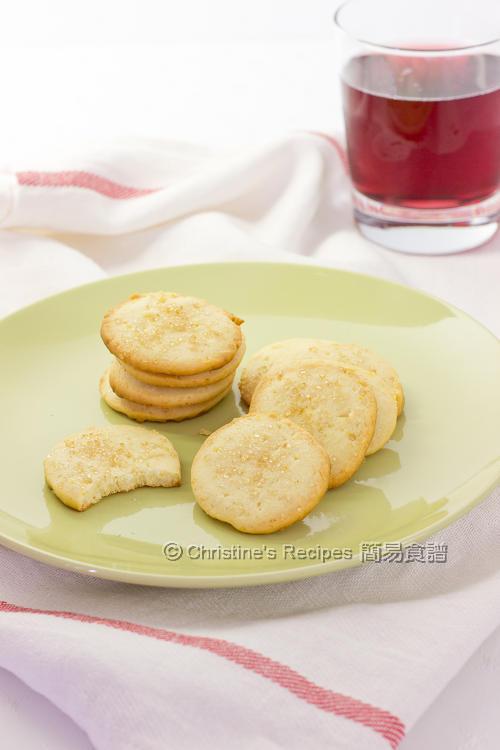檸檬杏仁曲奇餅 Lemon Almond Cookies01