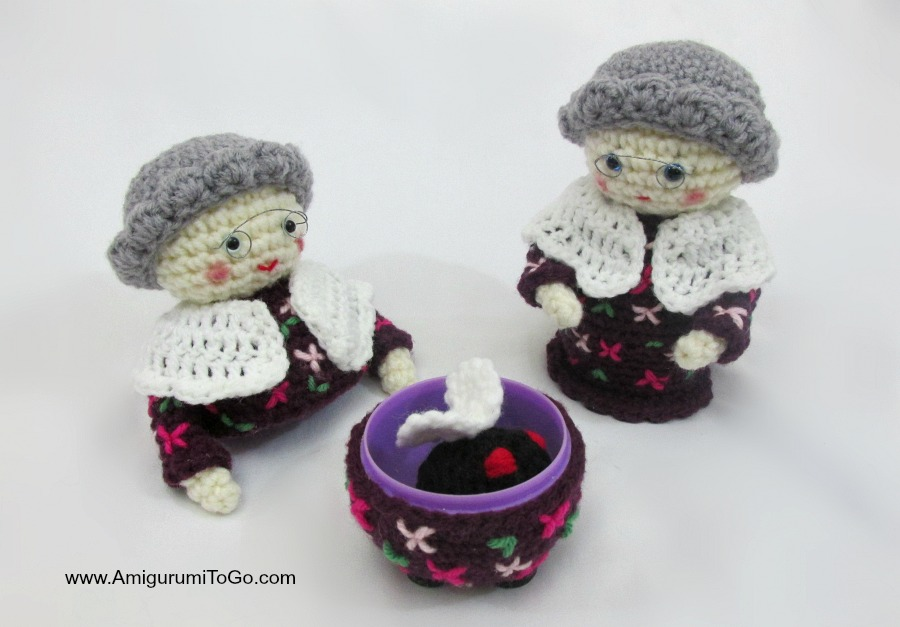 Amigurumi To Go Patterns : The Old Lady Who Swallowed A Fly ~ Amigurumi To Go