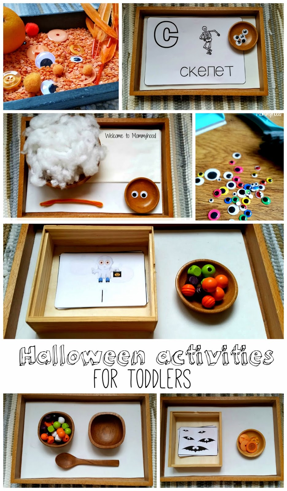 Free (montessori inspired) printables and themed works {Welcome to Mommyhood} #montessori, #freeprintables, #toddleractivities, #preschoolactivities, #homeschool