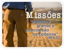 """""""Peçam, pois, ao Senhor da colheita que envie trabalhadores para a Sua colheita."""""""