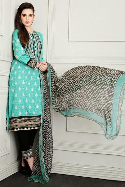 Mausummery by Huma Eid Dresses 2014-15