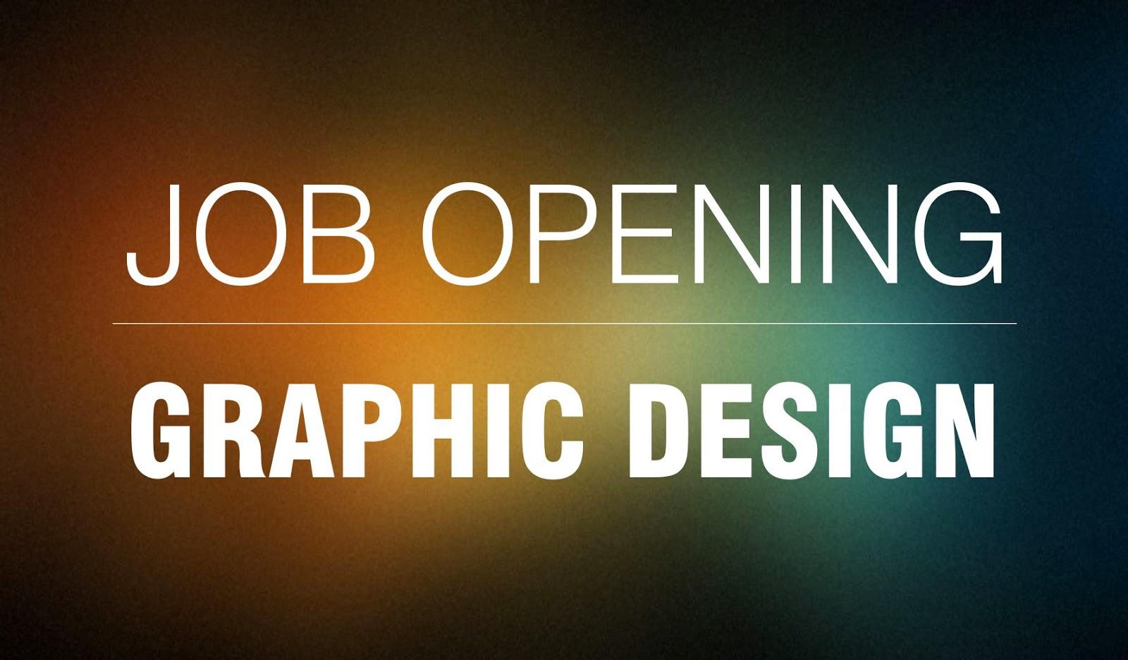 Graphic Designer Job Opening: mydesignsfouryou.blogspot.com/2015/01/graphic-designer-job-opening...