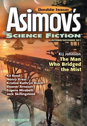 Asimov's October/November 2011 Cover