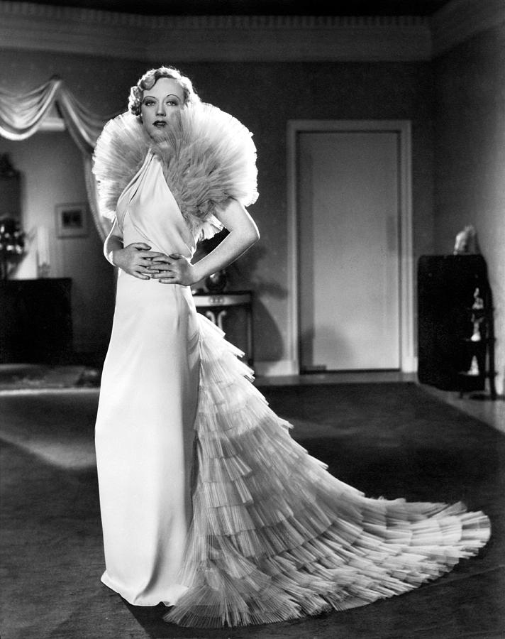 Fashioning Nostalgia Old Hollywood Glamour 1930s White